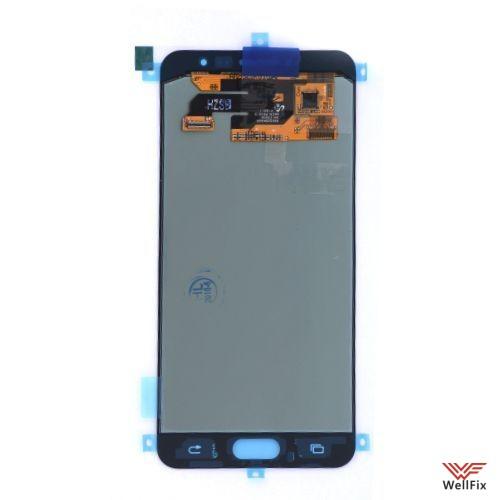 Дисплей Samsung Galaxy C5 с тачскрином белый - 1