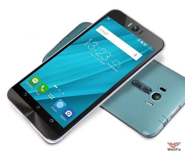 Чехол Asus Zenfone Selfie ZD551KL белый (Nillkin, силикон) - 3