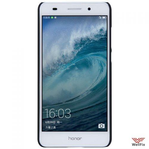 """Чехол Huawei Honor 5A  5.5"""" черный  (Nillkin, пластик) - 3"""