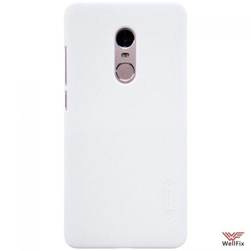 Чехол Xiaomi Redmi Note 4 белый (Nillkin, пластик) - 1