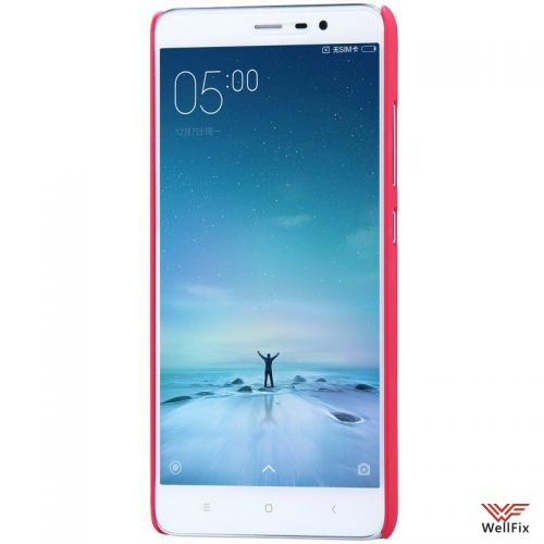 Чехол Xiaomi Redmi Pro красный (Nillkin, пластик) - 4
