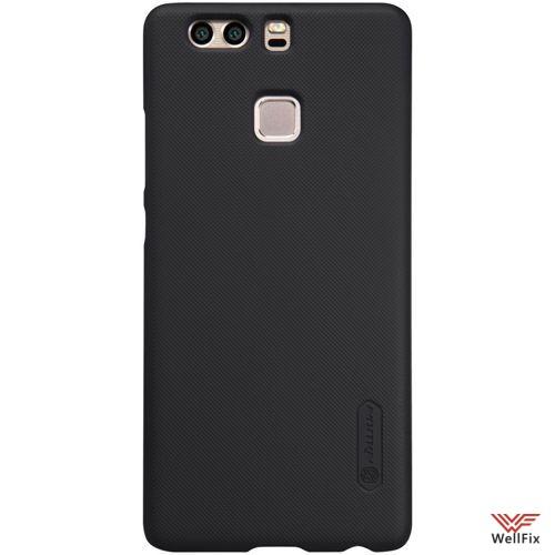 Чехол Huawei P9 черный (Nillkin, пластик) - 3
