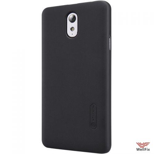 Чехол Lenovo VIBE P1m черный (Nillkin, пластик) - 3
