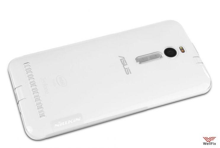 Чехол Asus ZenFone 2 ze550 / ze551 белый (Nillkin, силикон) - 1