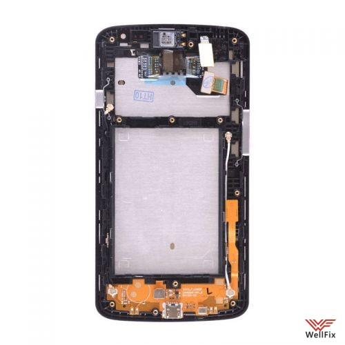 Дисплей LG F70 D315 с тачскрином черный - 1