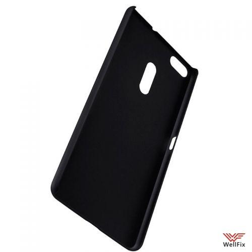 Чехол Asus Zenfone 3 Ultra ZU680KL черный (Nillkin, пластик) - 4