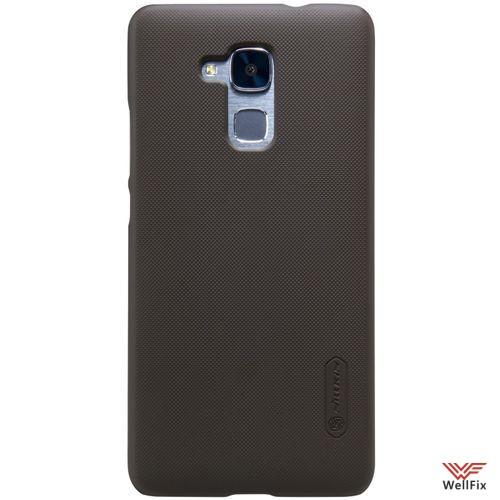 Чехол Huawei Honor 5c черный (Nillkin, пластик) - 3