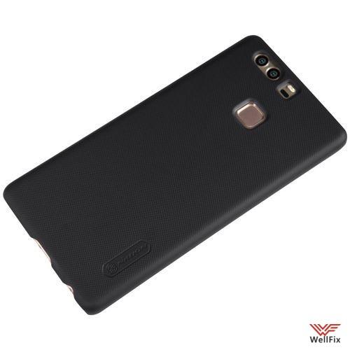 Чехол Huawei P9 черный (Nillkin, пластик) - 1