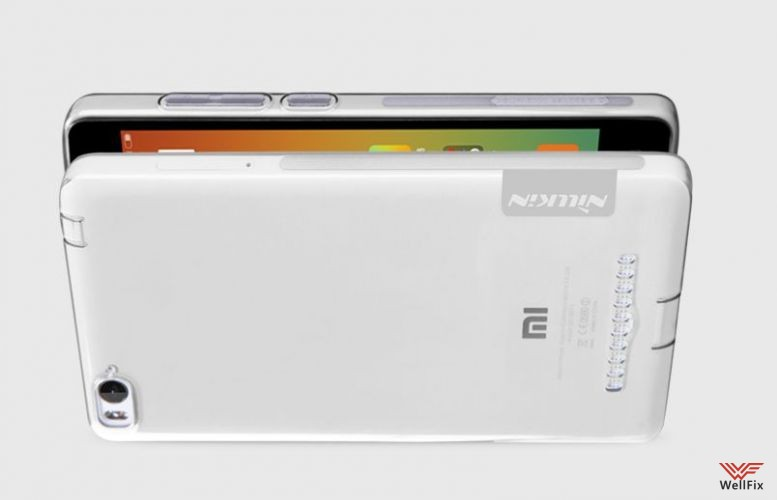 Чехол Xiaomi Mi4i белый (Nillkin, силикон) - 5