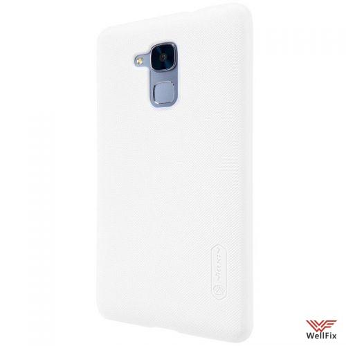 Чехол Huawei Honor 5c белый (Nillkin, пластик) - 4