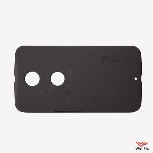 Чехол Motorola Nexus 6 черный (Nillkin, пластик) - 2
