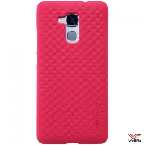 Чехол Huawei Honor 5c красный (Nillkin, пластик) - 3
