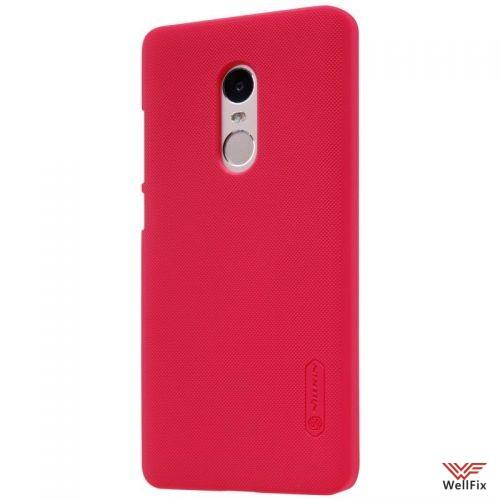 Чехол Xiaomi Redmi Note 4 красный (Nillkin, пластик) - 2