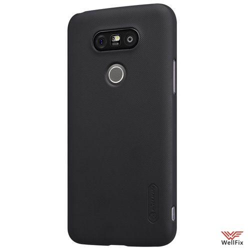 Чехол LG G5 H845 черный (Nillkin, пластик) - 4