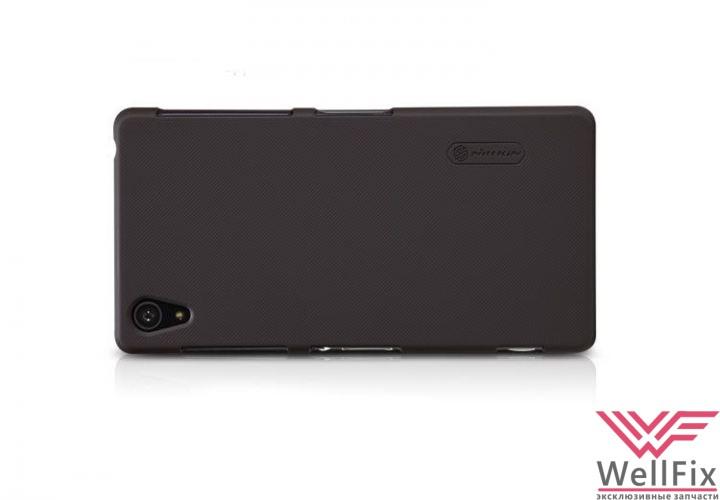 Чехол Sony Xperia Z2 черный (Nillkin, пластик) - 1
