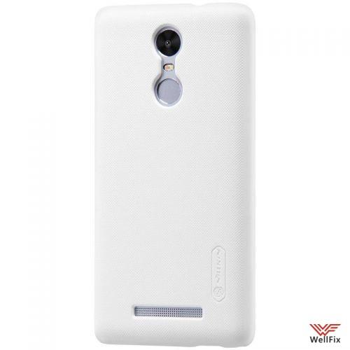 Чехол Xiaomi Redmi Pro белый (Nillkin, пластик) - 4