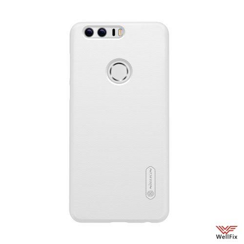 Чехол Huawei Honor 8 белый (Nillkin, пластик) - 2