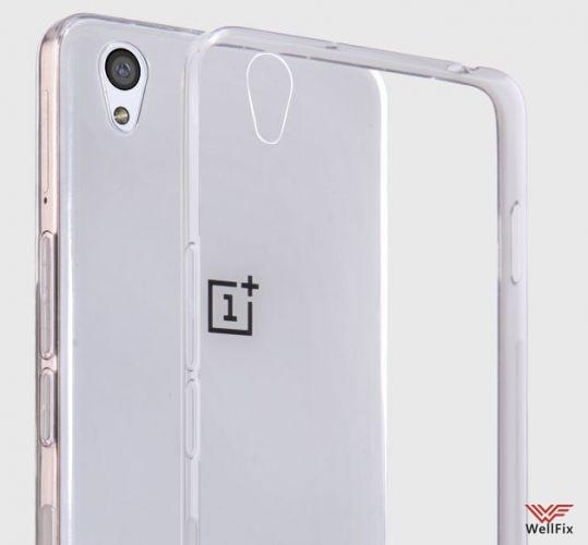 Чехол OnePlus X белый (Nillkin, силикон) - 1