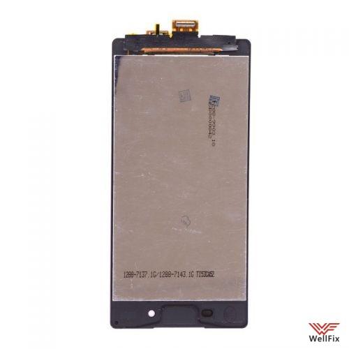 Дисплей Sony Xperia X Dual с тачскрином черный - 1