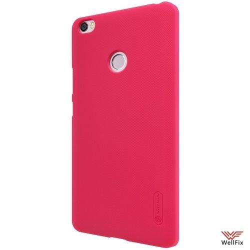 Чехол Xiaomi Mi Max красный (Nillkin, пластик) - 3