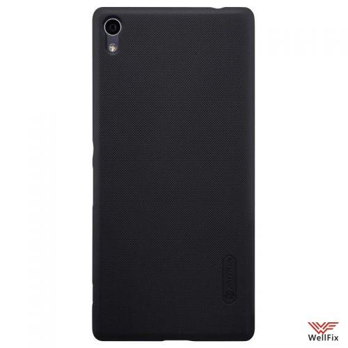 Чехол Sony Xperia XA Ultra Dual черный (Nillkin, пластик) - 1