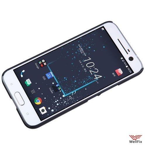 Чехол HTC 10 Lifestyle черный (Nillkin, пластик) - 4