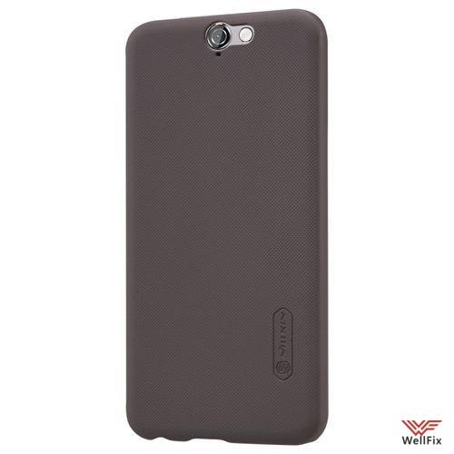 Чехол HTC One A9 черный (Nillkin, пластик) - 3