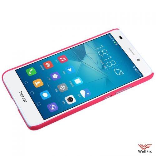 Чехол Huawei Honor 5c красный (Nillkin, пластик) - 1