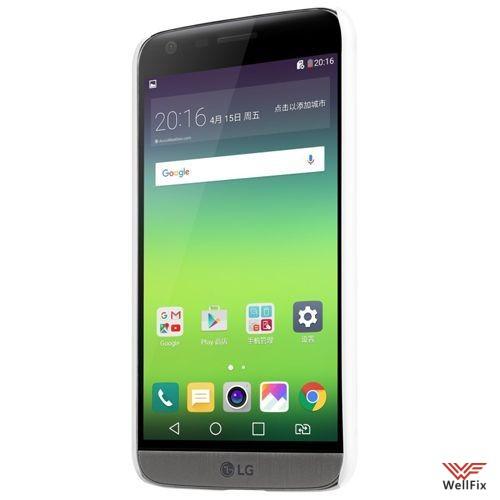 Чехол LG G5 H845 белый (Nillkin, пластик) - 3
