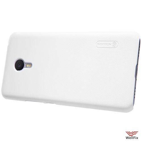 Чехол Meizu M3 Note белый (Nillkin, пластик) - 3