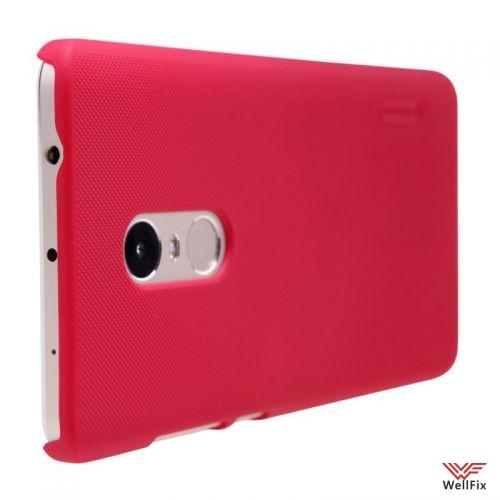 Чехол Xiaomi Redmi Note 4 красный (Nillkin, пластик) - 4