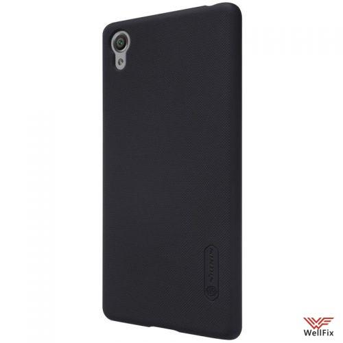 Чехол Sony Xperia X Performance черный (Nillkin, пластик) - 4