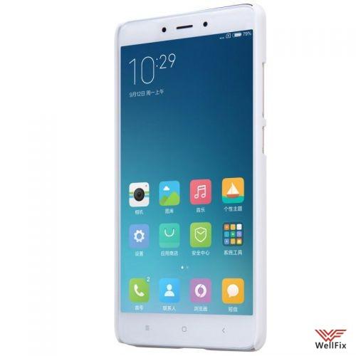 Чехол Xiaomi Redmi Note 4 белый (Nillkin, пластик) - 6