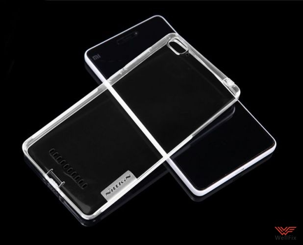 Чехол Xiaomi Mi4i белый (Nillkin, силикон) - 6