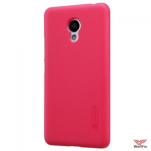 Чехол Meizu M3s Mini красный (Nillkin, пластик) - 1
