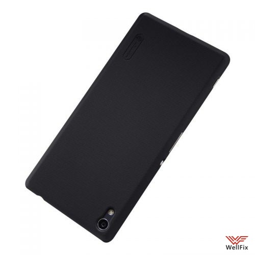 Чехол Sony Xperia XA Ultra Dual черный (Nillkin, пластик) - 2