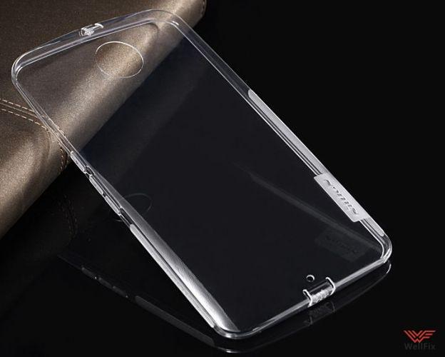 Чехол Motorola Nexus 6 белый (Nillkin, силикон) - 2