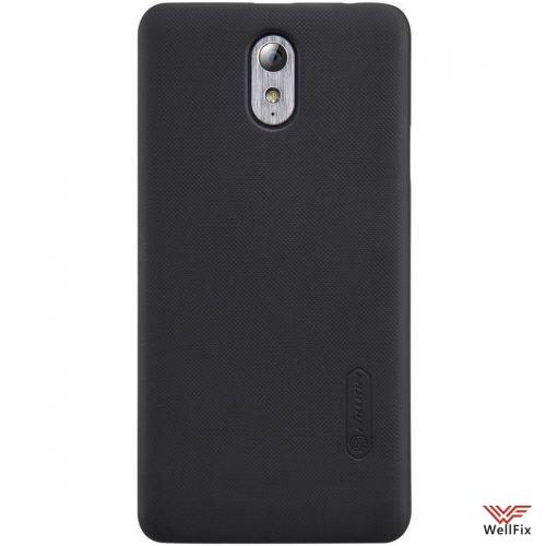Чехол Lenovo VIBE P1m черный (Nillkin, пластик) - 2
