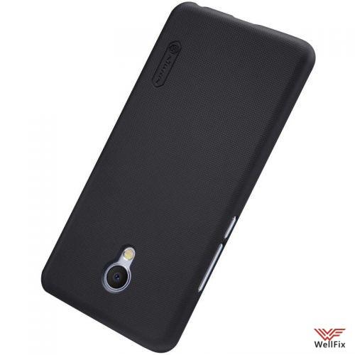 Чехол Meizu MX6 черный (Nillkin, пластик) - 1