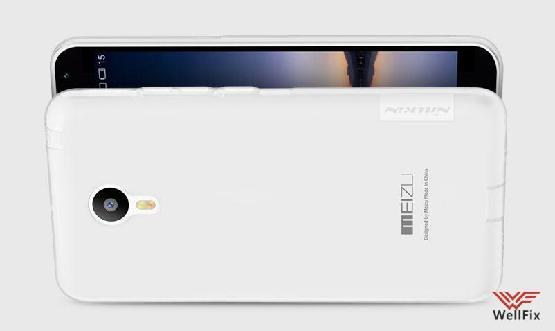Чехол Meizu M2 Note белый (Nillkin, силикон) - 3