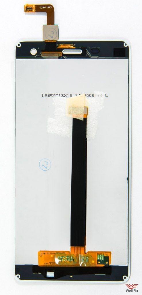 Дисплей Xiaomi Mi4 с тачскрином белый - 1