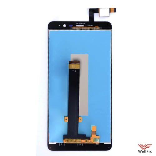 Дисплей Xiaomi Redmi Note 3 с тачскрином белый - 1