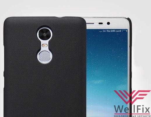 Чехол Xiaomi Redmi Note 3 черный (Nillkin, пластик) - 1