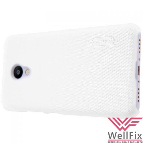Чехол Meizu Pro 5 белый (Nillkin, пластик) - 3