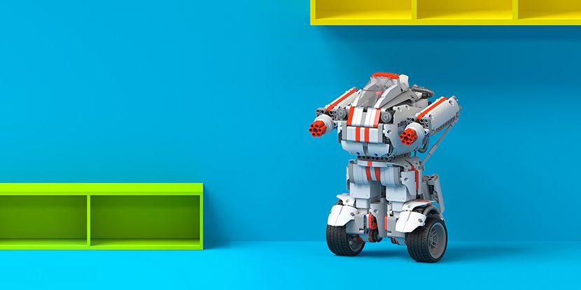 Умный робот конструктор Xiaomi Mi Bunny Block Robot внешний вид