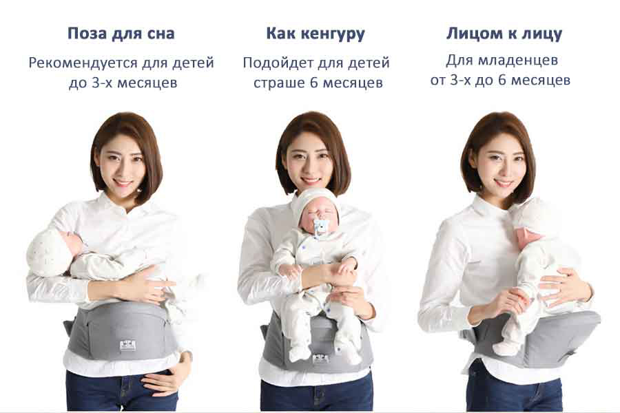 Изображение Xiaomi Xiaoyang Portable Baby Carriers Hip Seat