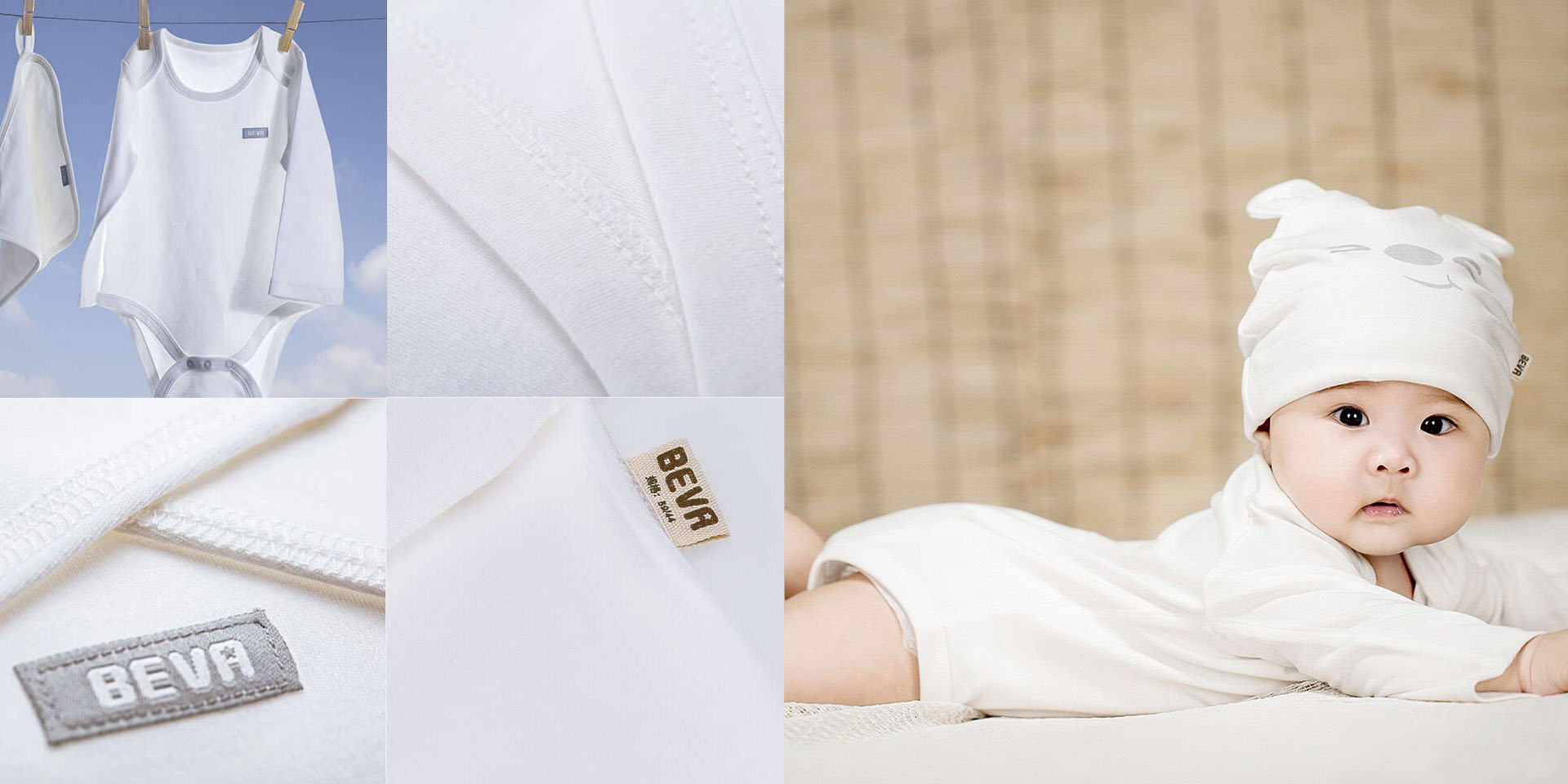 Комплект одежды Xiaomi для новорождённого 66см комплект