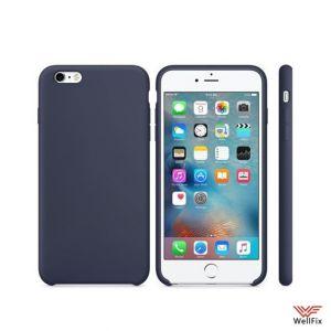 Изображение Силиконовый чехол для iPhone 6/6s темно-синий