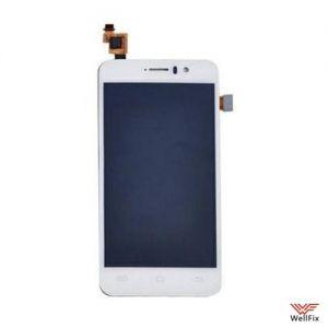 Дисплей Jiayu G5 с тачскрином белый
