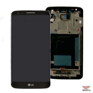 Дисплей LG G2 D802 с тачскрином черный